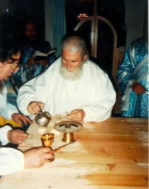 Освящение Владимирского Софронием