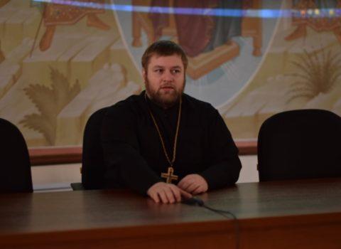 Воскресная беседа с прихожанами 13 января